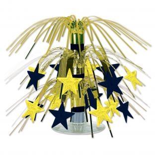 Mini-Tischkaskade Golden Starlight Silvester Party Deko