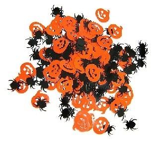 Tischkonfetti Halloween - Gruselparty Tischdeko