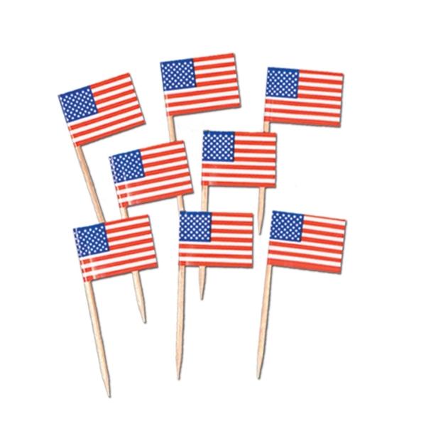 Flaggenpicker USA - Amerika Tiscbdeko