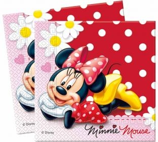 Servietten Elegante Minnie, 20er Pack