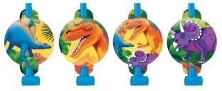 Luftrüssel Dinosaurier, 8'er Pack