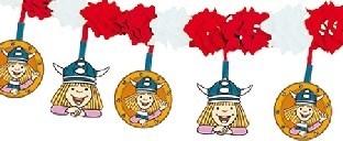 Girlande Wickie - Kinderparty Deko