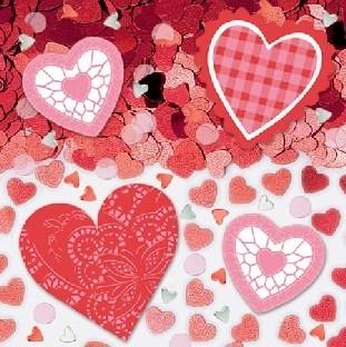 Tischkonfetti Herzschmerz