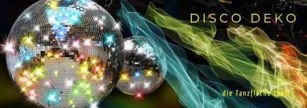 Disco Deko 70er Jahre von Party-Extra - damit Ihre Tanzflaeche tobt M