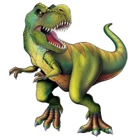 Party-Extra Riesen Cutout Tyrannosaurus Rex