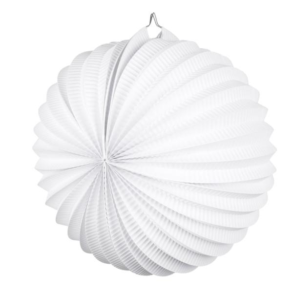 Party-Extra Lampion, weiß - Hängedeko für Ihre Party
