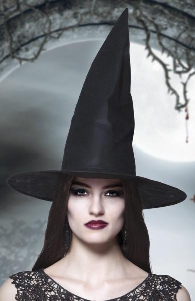 Standard Hexenhut schwarz - Hexen Deko Halloween