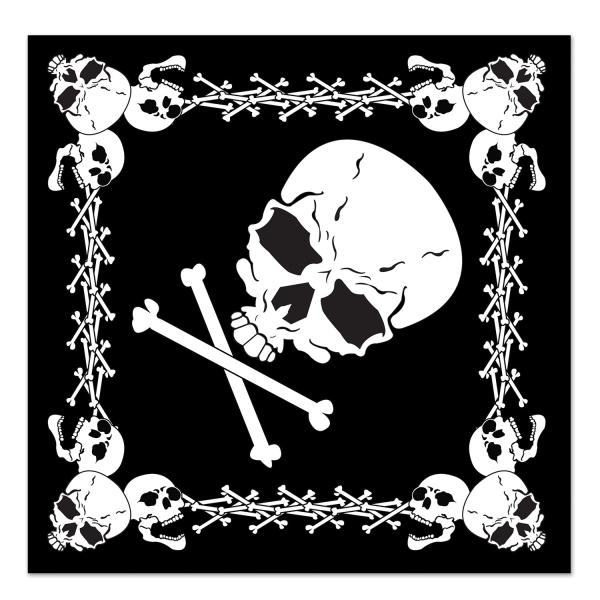 Party-Extra Piraten-Bandanna Kopftuch