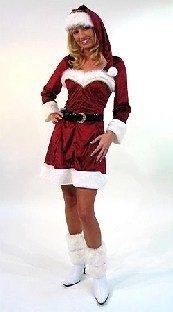 Damenkostuem Sexy Weihnachts-Frau