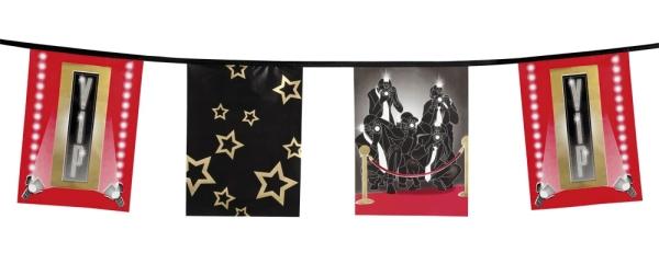 Flaggenkette VIP - Very Important Person Deko
