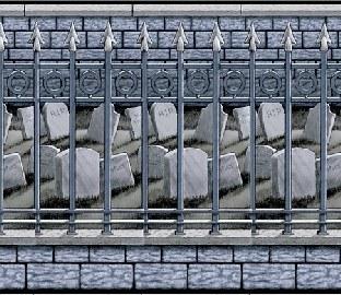 Party-Extra Dekofolie Friedhofsmauer, 15 Meter