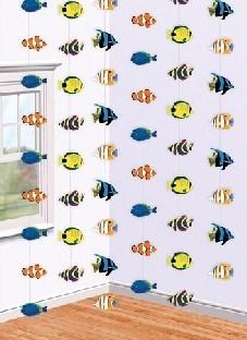 Hängegirlanden Bunte Fische