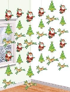 Hängegirlanden Weihnachten - Weihnachtsdeko