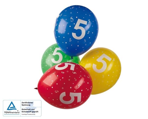 Zahlen Luftballon