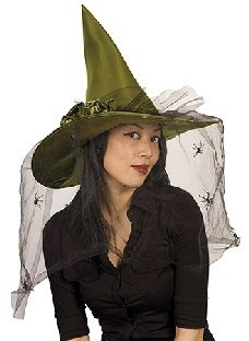 Hexenhut Grüne Esmeralda
