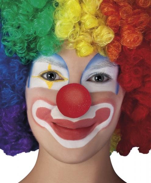 Clownsnase aus Schaumstoff, rot