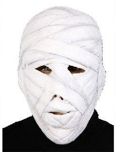 Latexmaske Mumie