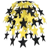 Party-Extra Große Hängekaskade Golden Starlight, 60 cm