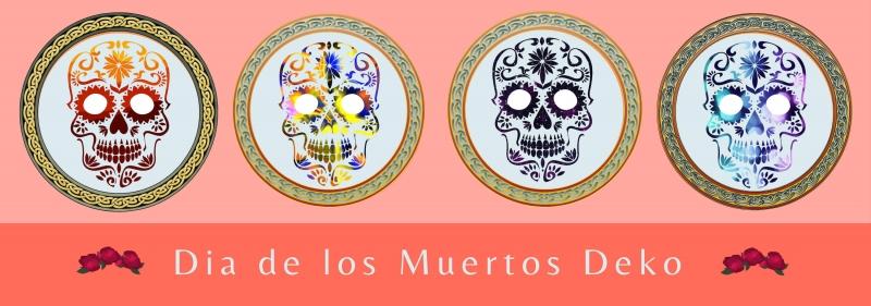 Dia de los Muertos Deko - Tod auf Mexikanischer Art