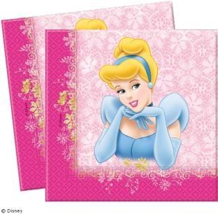 Servietten Schöne Prinzessin, 20er Pack