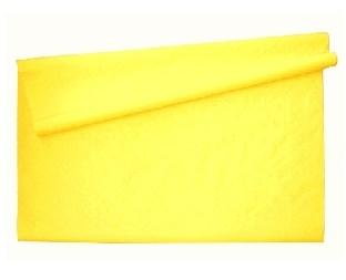Gelbe Tischtuchrolle, 10 Meter