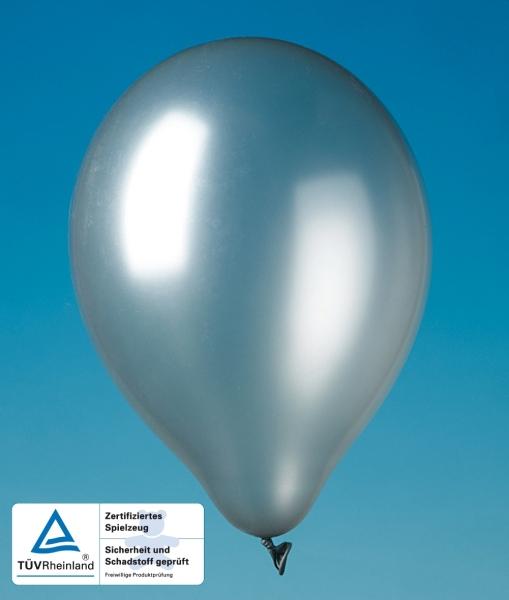 Luftballons silber