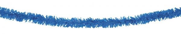 Fransengirlande blau, 10 Meter - schwer-entfoo