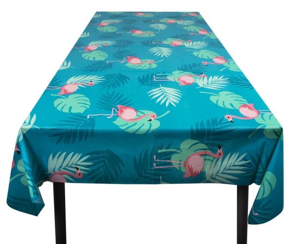 Plastik-Tischdecke Flamingoparty - Flamingo Tischdeko