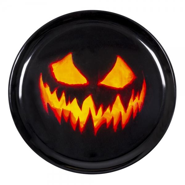 Tablett Spooky Pumpkin - Halloween Tischdeko