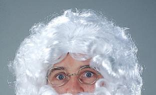 Party-Extra Weiße Nikolaus-Perücke