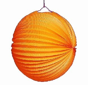 Party-Extra Lampion, orange