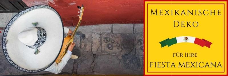 Mexikanische Deko für Ihre Fiesta Mexicana Mexiko Mottoparty D