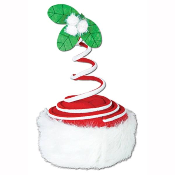 Spiral-Weihnachtsmütze - Weihnachtsdeko