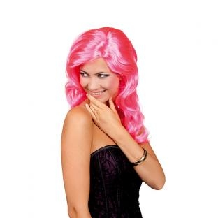 Perücke Celebrity, pink