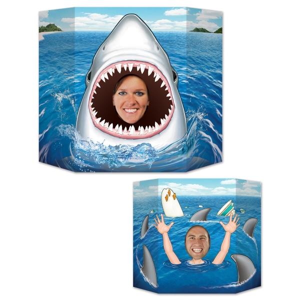 Fotowand Aufsteller Weißer Hai