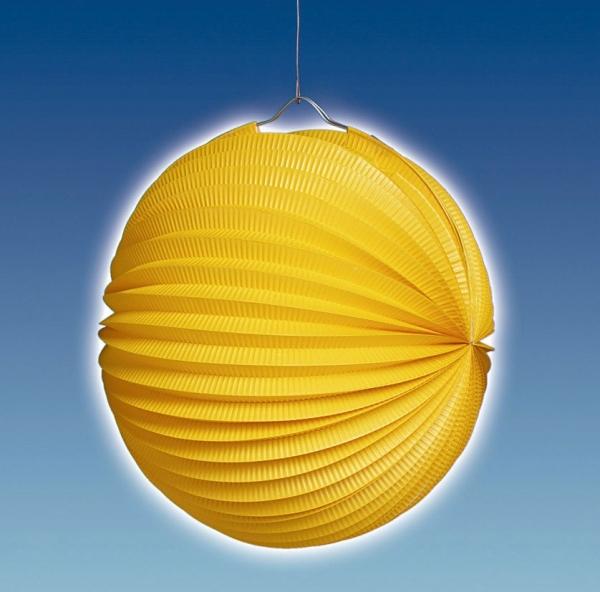 Party-Extra Lampion, gelb