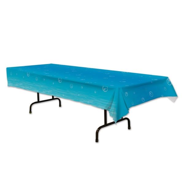 Plastik-Tischdecke Unterwasser - Maritime Tischdeko