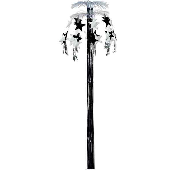 Party-Extra Kaskaden-Hänger Silver Starlight, 240 cm