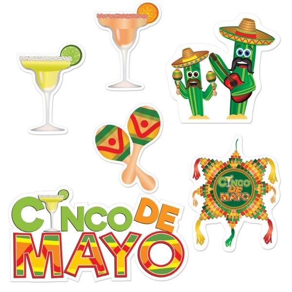 Party-Extra Fotospa0 Cutouts Cinco de Mayo