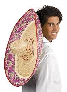 Riesensombrero, 70cm Durchmesser