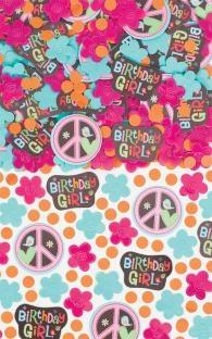 Tischkonfetti Hippie-Party, 14 Gramm pro Pack