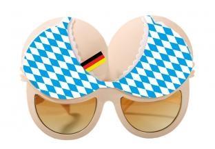Sonnenbrille Bayerisches Dekoltee