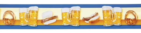 Absperrband Bier-Party - Oktoberfest Deko