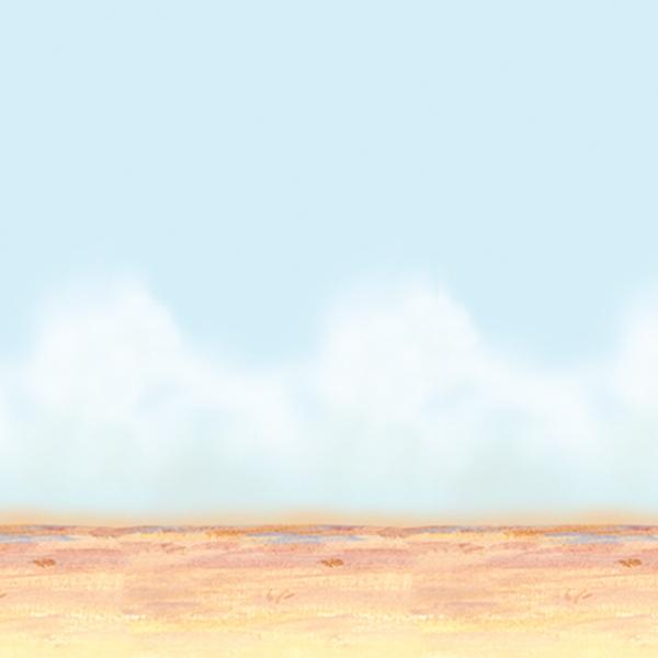 Party-Extra Dekofolie Weite Wüste