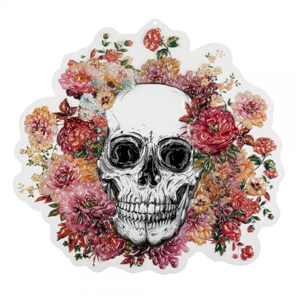 Wanddeko Day of the Dead - Dia de Muertos Sugar Skull Deko