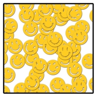Party-Extra Tischkonfetti Smiley,