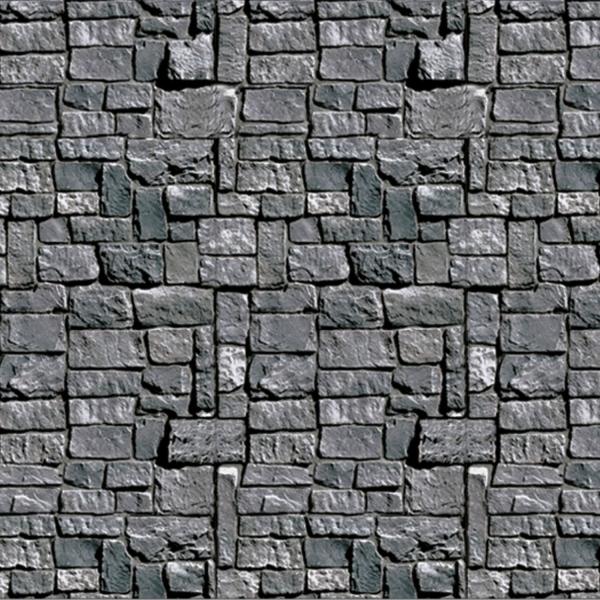 Party.Extra Dekofolie düstere Steinmauer