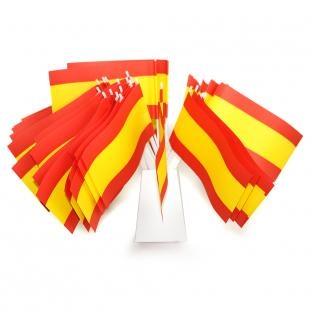 Papierfaehnchen Spanien - Laender Deko