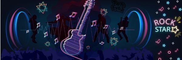 Rockstar Deko fuer Dein Superstar