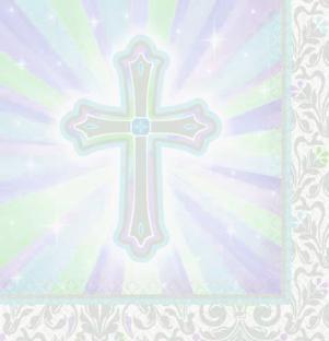 Servietten Christliches Fest